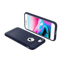 Чехол Spigen Rugget Armor для iPhone 8 синий