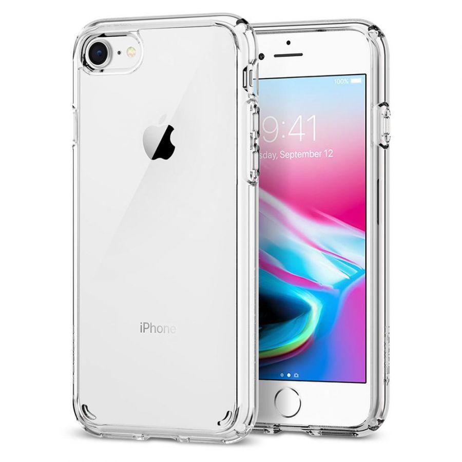 Чехол Spigen Ultra Hybrid 2 для iPhone 8 кристально-прозрачный