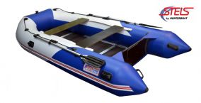 Надувная лодка HUNTERBOAT Стелс 375