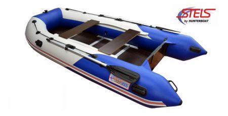 Надувная лодка HUNTERBOAT Стелс 355