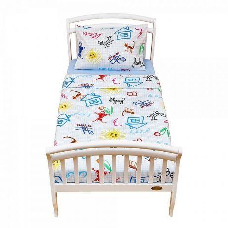 Комплект постельного белья для дошкольников (2 предмета) School