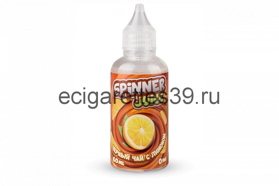 Жидкость Spinner Juice Черный чай с лимоном, 60 мл.