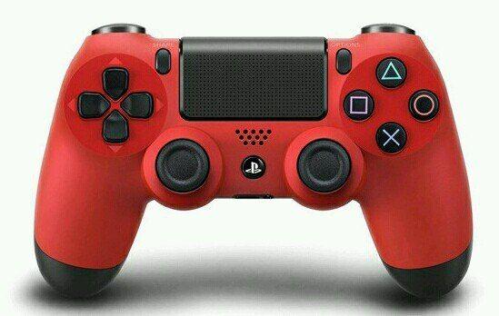 Геймпад Sony PlayStation 4 красный (версия v2 !!!)