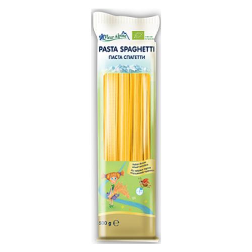 """Флер Альпин-паста Органик """"Спагетти"""" 500 гр."""