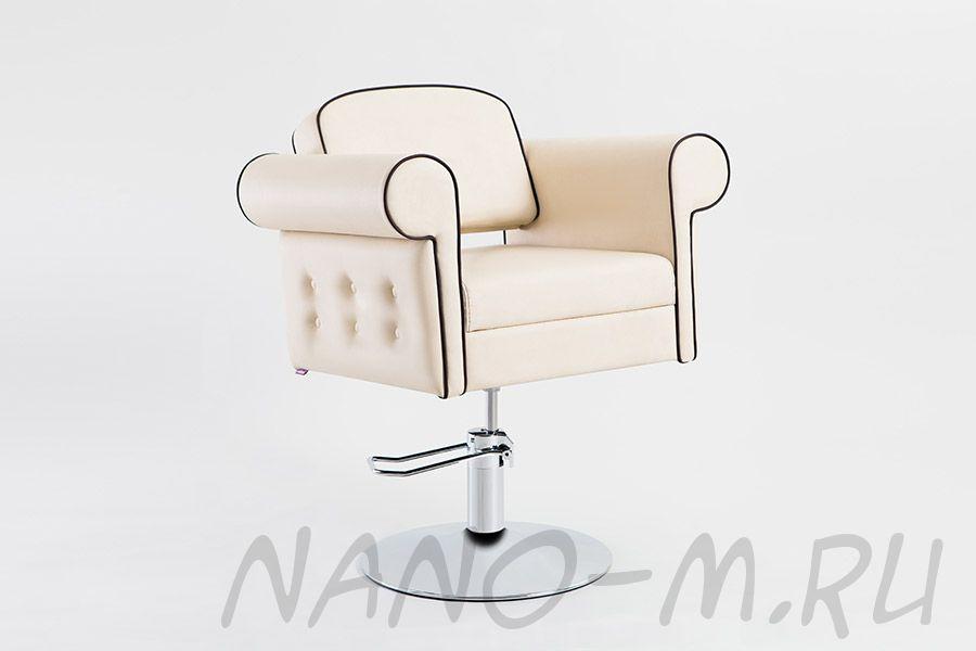 Парикмахерское кресло Venetto светлое