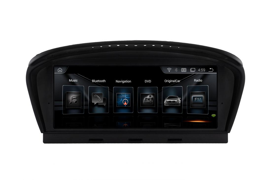 """Монитор RDL-8210 BMW 5 серии E60 (2005-2010) Android 8.1, Магнитола CCC LVDS 10pin 8,8"""""""