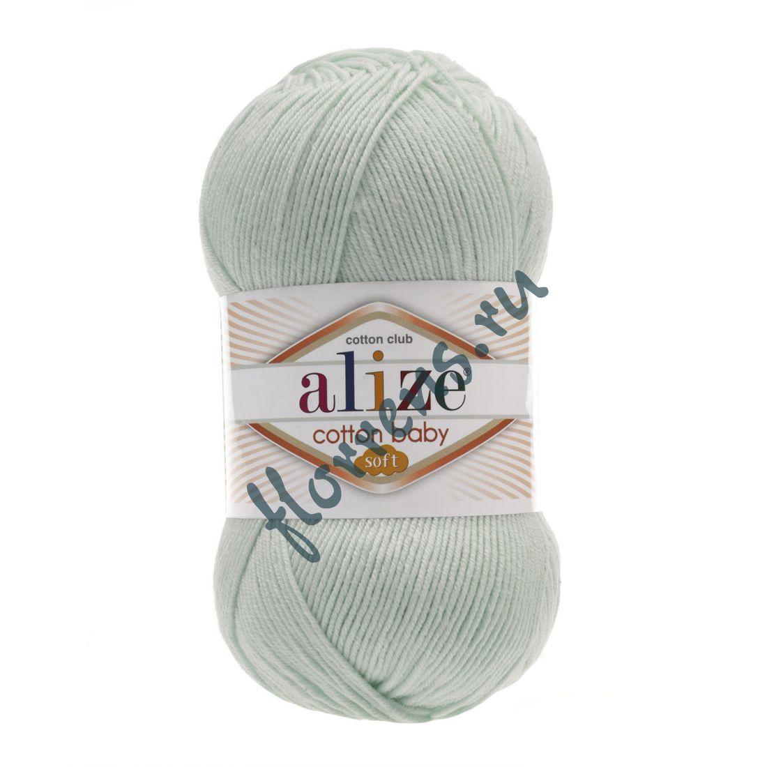 Пряжа Alize Cotton Baby soft / 514 зимнее небо