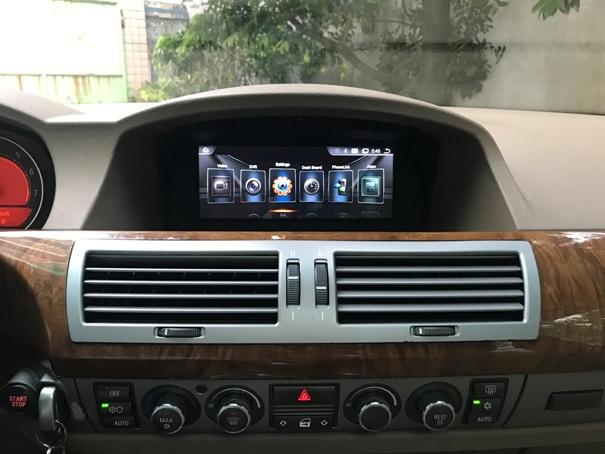 "Radiola NAV-RDL-8207 монитор для BMW 7 серии E65/Е66 (2001-2009), Android 8.1, 8,8"""