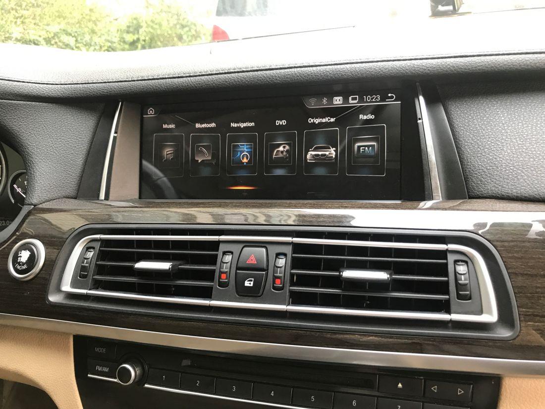 "Монитор NAV-RDL-8227  BMW 7 серии F01/F02 (2012-2015) Android 8.1, 10,25"""