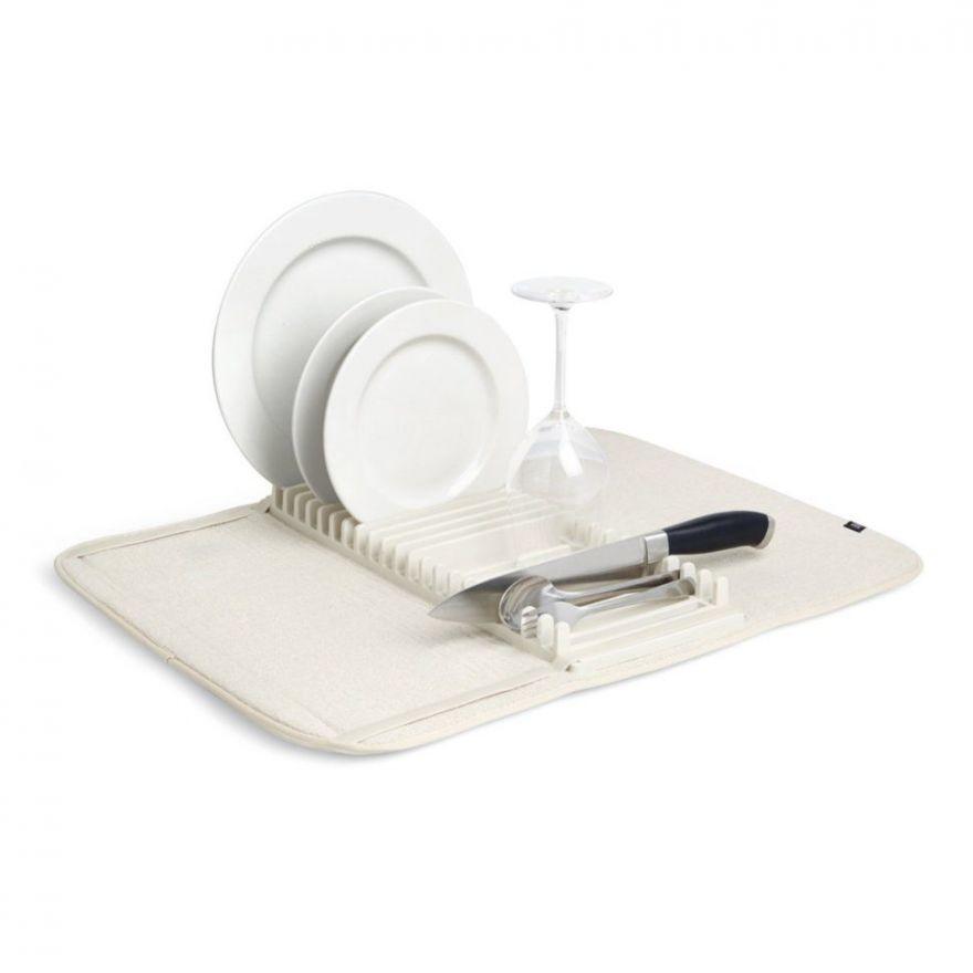Сушилка для посуды с подкладкой Large Drying Mat & Dish Drainer Set