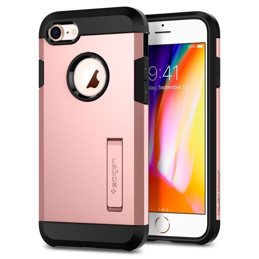 Чехол Spigen Tough Armor 2 для iPhone 8 розовое золото