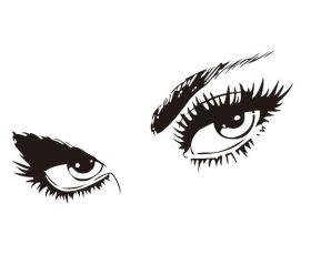 """Стикер """"глаза"""""""