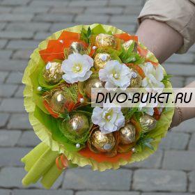 """Букет из конфет №640 """"Цитрус"""""""