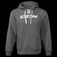 Толстовка CCM Logo Hoody (серая), SR