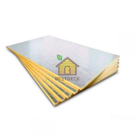 Базальтовая плита фольгированная 1250х460х5 мм
