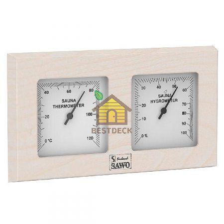 Термогигрометр SAWO 224-THA из осины