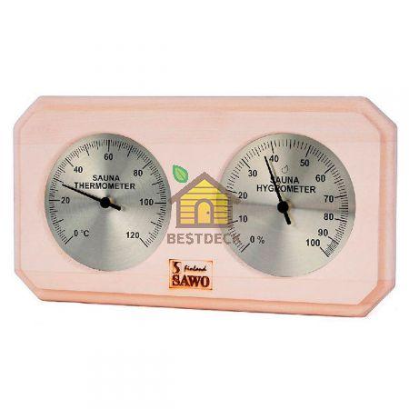 Термогигрометр SAWO 221-THA из осины
