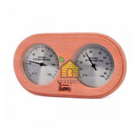 Термогигрометр SAWO 222-THD из канадского кедра