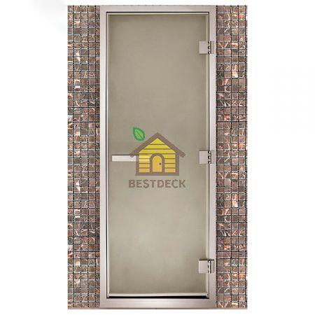 Дверь для хамама Maestro Woods Стекло сатин
