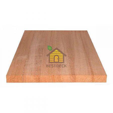 Мебельный щит из дуба цельноламельный. Сорт АС 200*20 мм