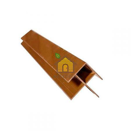 Профиль угловой Шоколад Goodeck для фасада 156х21 мм