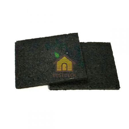 Резиновая подкладка 80х60х6 мм для монтажа