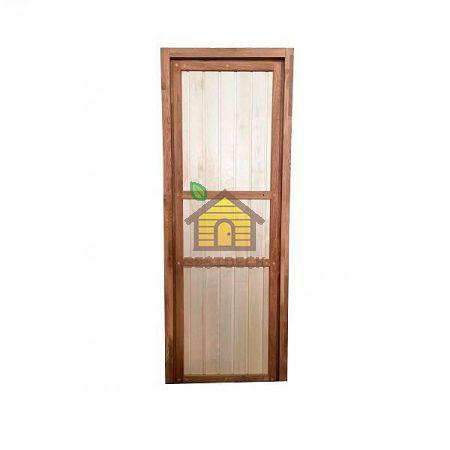 Дверь для бани дуб+осина