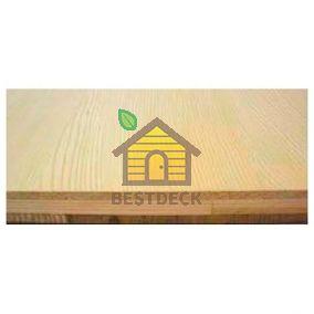 Панель из канадского кедра 3-х слойная, поверхность Гладкая, 17,5*285*3050 мм, Экстра