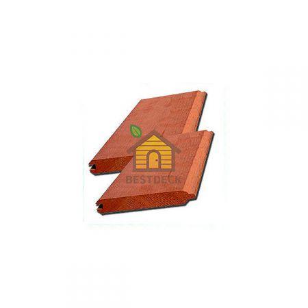 Имитация бруса из канадского кедра 17.5*136 мм, Экстра