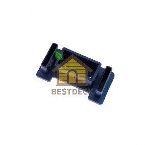 Крепеж для перил 90х45 мм из пластика