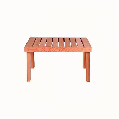 Скамейка Sawo 522-D из канадского кедра. Шир*Дл*Выс: 500х870х500 мм
