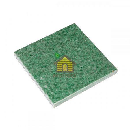 Плитка жадеит 100*100*10 мм для бани и сауны