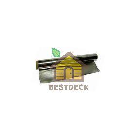 Фольга для бани алюминиевая 1000*100 мм; 10 м2