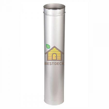 Труба одноконтурная 500 мм для дымохода
