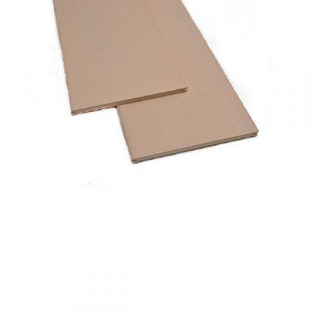 Фасадная доска-планкен из ДПК Экодэк 220*10 мм. Цвет: Белый клён.