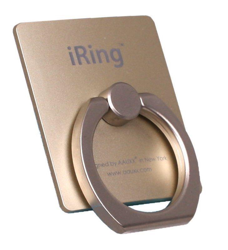 Универсальный держатель для смартфона Iring (Золотой)