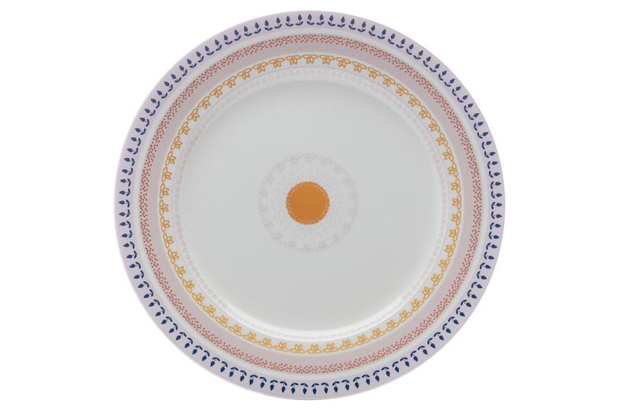 "Тарелка обеденная ""Базар"" без инд.упаковки, 27.5 см"