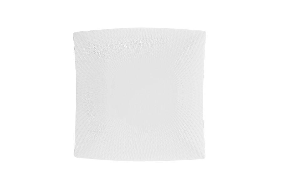"Квадратная тарелка ""Даймонд"" без инд.упаковки, 18.5 см"