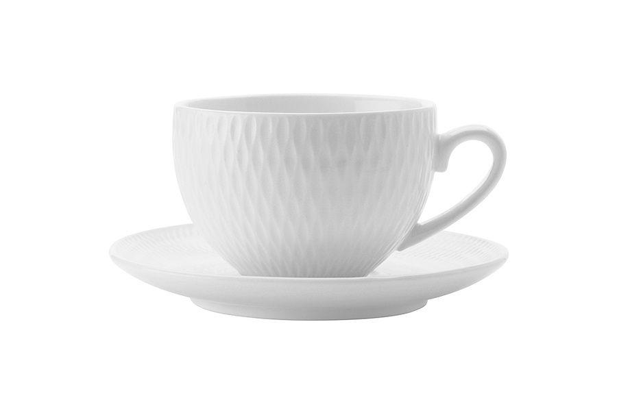 "Чашка с блюдцем ""Даймонд"" без инд.упаковки, 0.09 л"