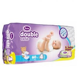 Подгузники Violeta Double Care 7-14кг 60шт