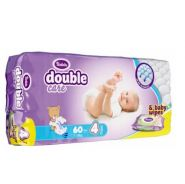 Подгузники Violeta Double Care 7-14кг 60шт