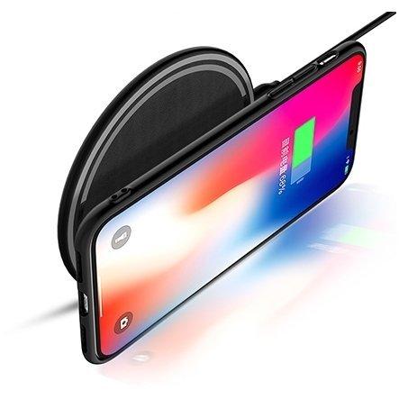 Беспроводное зарядное устройство Rock W12 Quick Wireless charger черное