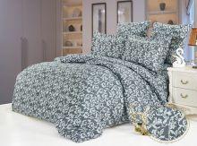 """Комплект постельного белья  Сатин-мережка  """"KAZANOV.A""""  Сантина 1.5 спальный   Арт.919/1"""