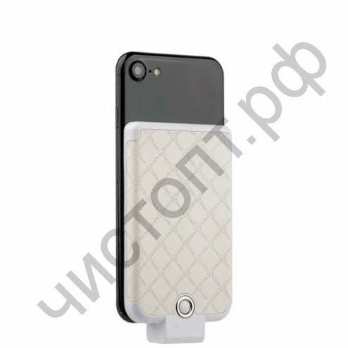 Моб. заряд. устрой. HOCO BW4 Tiny, 4000mAh, под кожу, Apple 8 pin, 1A, цвет: белый Power Bank Распродажа !!!