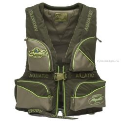 Жилет Aquatic рыболовный страховочный ЖС-02