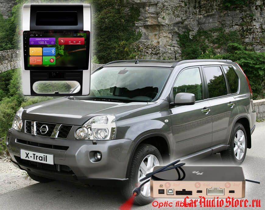 Redpower 31001 R IPS Nissan X-Trail (2007-2015) (климат) ANDROID 7