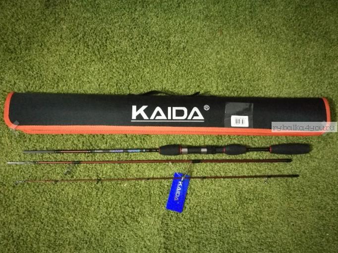 Купить Спиннинг Kaida Solomon 2,1 м/ тест 3,5-14 гр/ арт: 750-3514-210