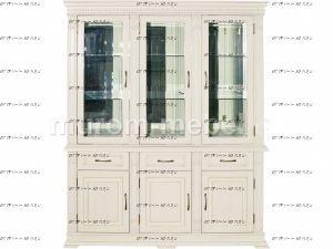 Шкаф-витрина Флоренция-1 трехдверный
