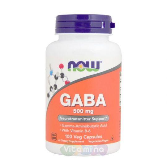 GABA 500 мг. - 100 капс