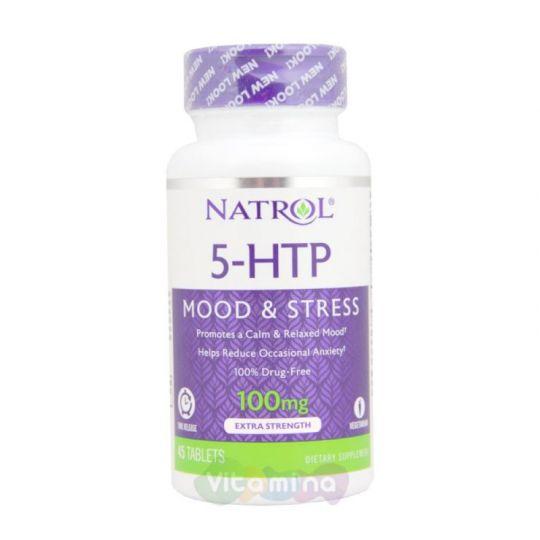 Natrol 5-HTP 100 мг быстрорастворимые табл